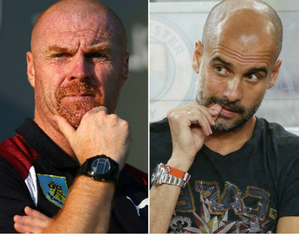 pep guardiola v sean dyche